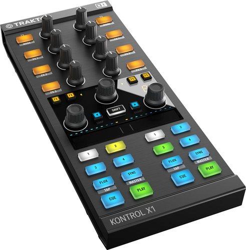 MIDI, Dj контроллер Native Instruments Traktor Kontrol X1 MK2 midi клавиатура 49 клавиш native instruments komplete kontrol s49 mk2