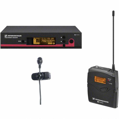 Радиосистема с петличным микрофоном Sennheiser EW 122 G3 радиосистема sennheiser ew d1 845s h eu
