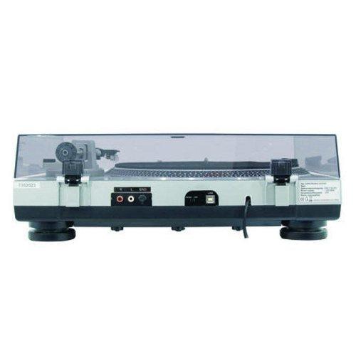 Проигрыватель винила с прямым приводом Omnitronic DD-2550 USB проигрыватель винила с ременным приводом omnitronic bd 1350