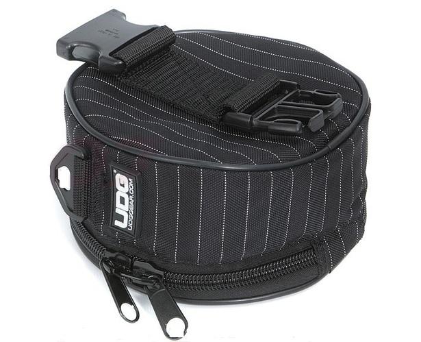 Сумка для наушников UDG Ultimate Headphone Bag Black/Grey Stripe сумка для фотоаппарата roxwill neo10 grey