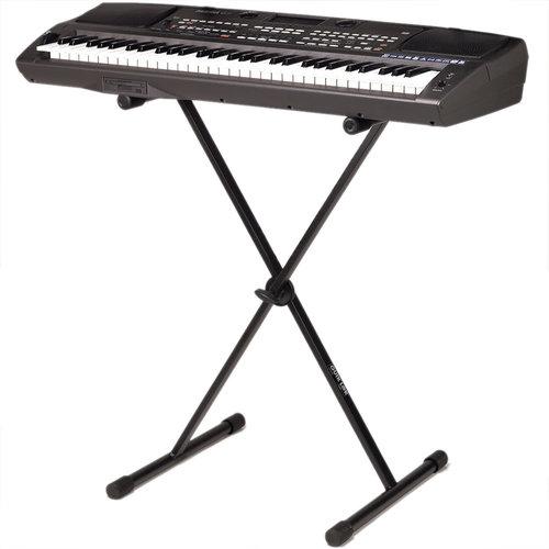 Стойка под клавиши QUIK LOK T10 BK микрофонная стойка quik lok a 344 bk