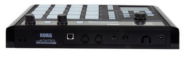 MIDI, Dj контроллер Korg PADKONTROL KPC-1 BK korg dj gb 1