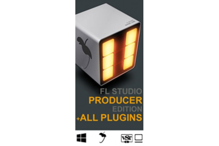 Софт для студии Image-Line Fl Studio 12 + All Plugins Bundle line 6 pod studio ux 2 usb