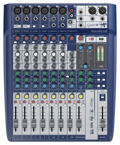 Аналоговый микшер Soundcraft Signature 10 аналоговый микшер soundcraft efx8