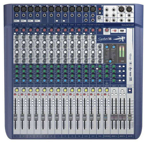 Аналоговый микшер Soundcraft Signature 16 аналоговый микшер soundcraft efx8