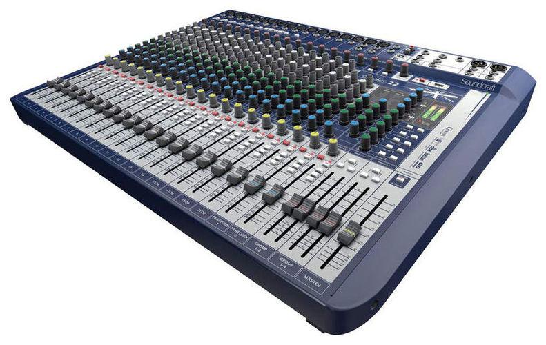 Аналоговый микшер Soundcraft Signature 22 аналоговый микшер soundcraft efx8