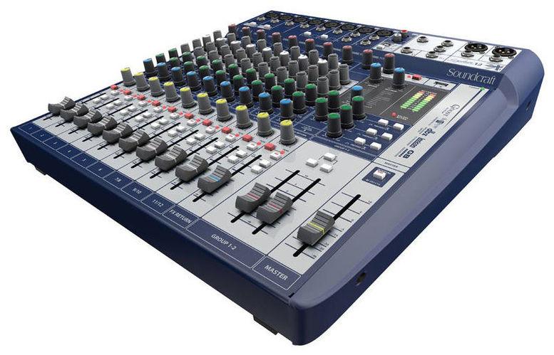 Аналоговый микшер Soundcraft Signature 12 аналоговый микшер soundcraft efx8