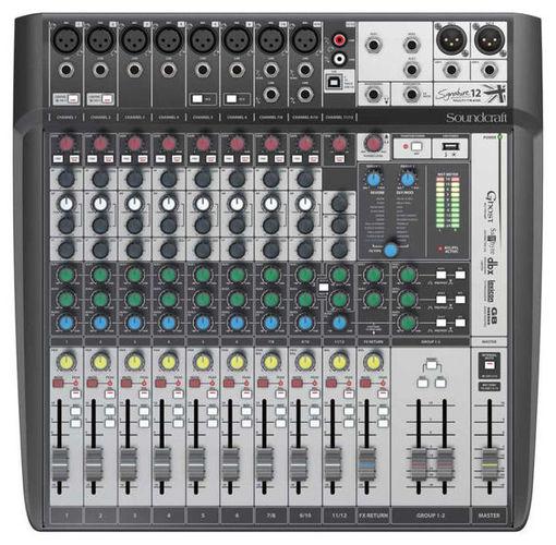 Аналоговый микшер Soundcraft Signature 12MTK аналоговый микшер soundcraft efx8