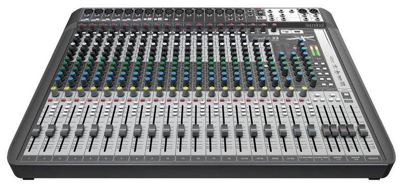 Аналоговый микшер Soundcraft Signature 22MTK аналоговый микшер soundcraft efx8