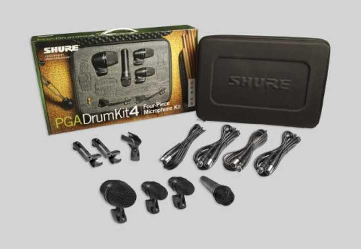Микрофон для ударных инструментов Shure PGADRUMKIT4 микрофон для ударных инструментов akg c518m