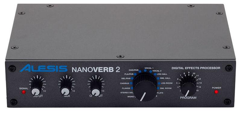 Процессор эффектов Alesis Nanoverb 2 радиосистема alesis miclink wireless