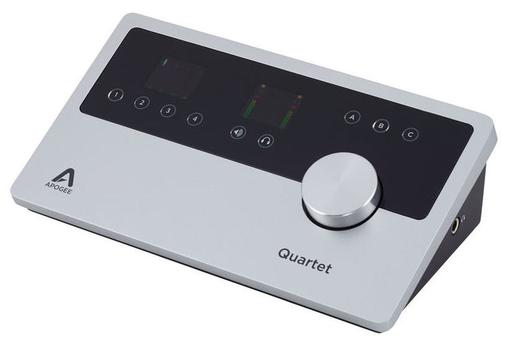 Звуковая карта внешняя Apogee Quartet apogee quartet for ipad and mac windows