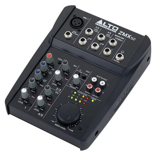 Аналоговый микшер Alto ZMX52 линейный массив alto sxa28p
