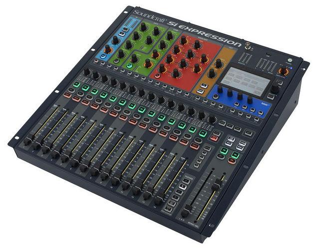 Цифровой микшер Soundcraft Si Expression 1 плата расширения soundcraft sio usb firewire