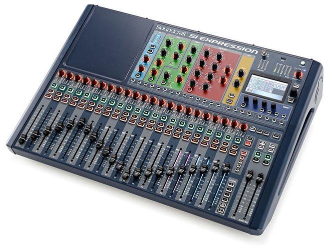 Цифровой микшер Soundcraft Si Expression 2 плата расширения soundcraft sio usb firewire