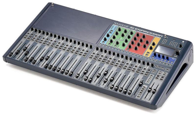 Цифровой микшер Soundcraft Si Expression 3 плата расширения soundcraft sio usb firewire
