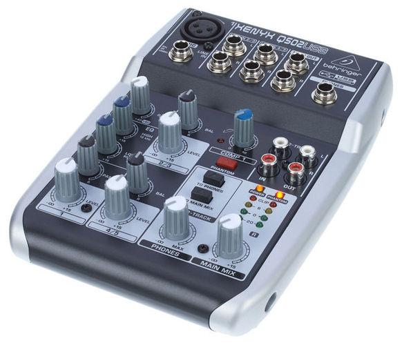 Аналоговый микшер Behringer XENYX Q502USB цифровой микшерный пульт behringer x32 producer