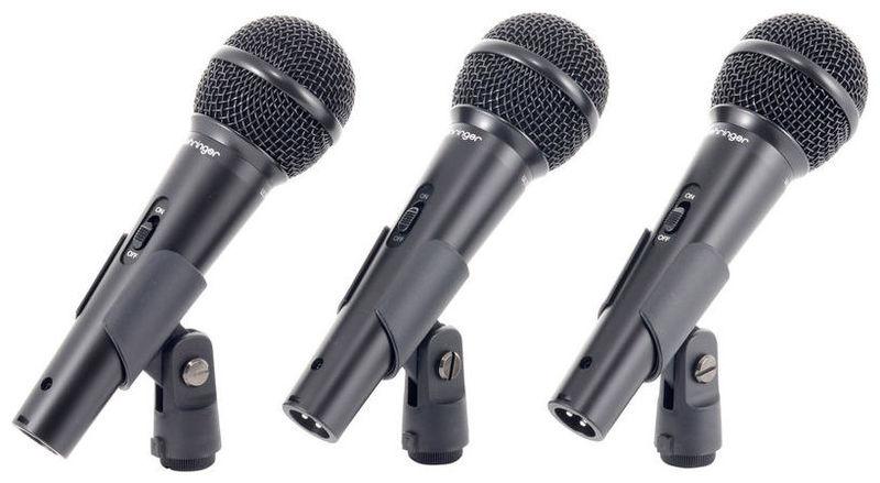 Динамический микрофон Behringer XM1800S студийный микрофон behringer b 5
