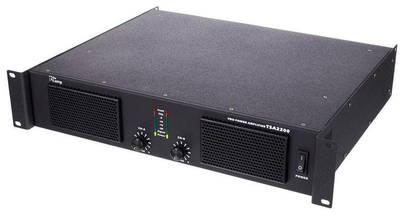 Усилитель мощности 850 - 2000 Вт (4 Ом) the t.amp TSA 2200 усилитель мощности 850 2000 вт 4 ом the t amp proline 3000