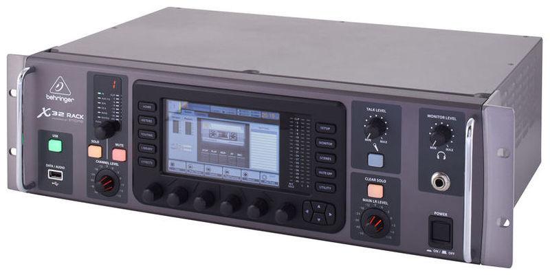 Цифровой микшер Behringer X32 RACK микшер с усилением behringer pmp2000d