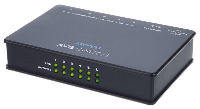 Звуковая карта внешняя MOTU AVB Switch звуковая карта внешняя motu 16a