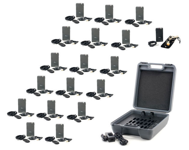 Оборудование для синхроперевода T.Bone Tour Guide Set III anders portable wireless tour guide system for tour guiding simultaneous meeting church f4506a