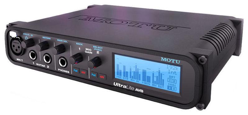 Звуковая карта внешняя MOTU UltraLite AVB звуковая карта внешняя motu 16a
