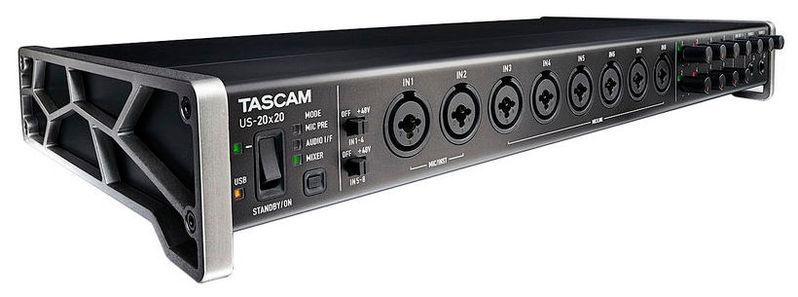 Звуковая карта внешняя Tascam US20×20