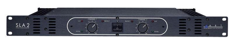 Усилитель мощности до 300 Вт (4 Ом) Art SLA-2 усилитель мощности до 800 вт 4 ом crown xls 1002