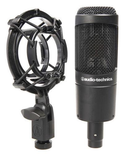 Микрофон с большой мембраной для студии Audio-Technica AT2035 аудио наушники remax наушники remax rm 535 white