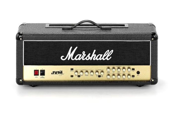Усилитель головы MARSHALL JVM 205H 50 WATT ALL VALVE 2 CHANNEL HEAD гитарный мини усилитель marshall гитарный мини комбоусилитель ms 2