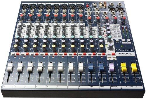 Аналоговый микшер Soundcraft EFX8 аналоговый микшер soundcraft efx8
