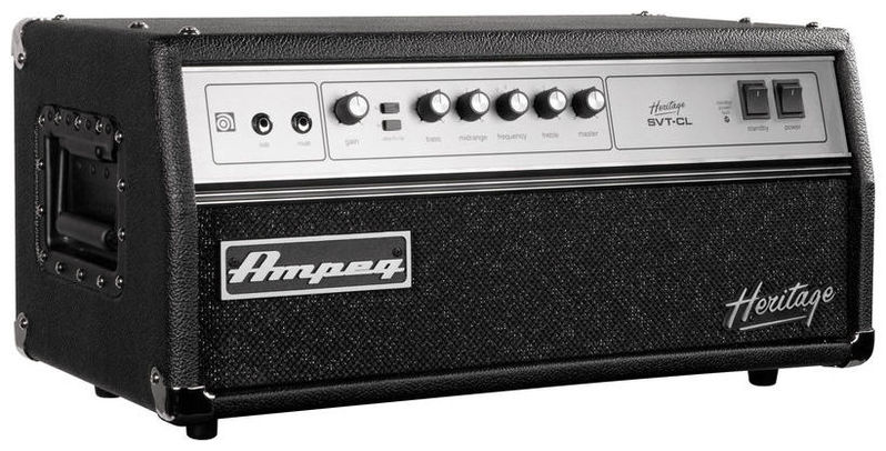 Усилитель голова для бас-гитары AMPEG HSVT-CL усилитель мощности 850 2000 вт 4 ом behringer europower ep4000