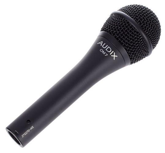 Динамический микрофон AUDIX OM7 универсальный инструментальный микрофон audix fireball