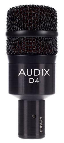 Универсальный инструментальный микрофон AUDIX D4 универсальный инструментальный микрофон audix fireball