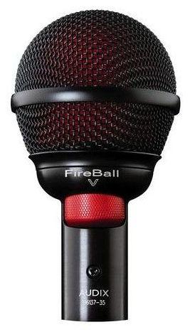 Универсальный инструментальный микрофон AUDIX fireball-v универсальный инструментальный микрофон audix fireball