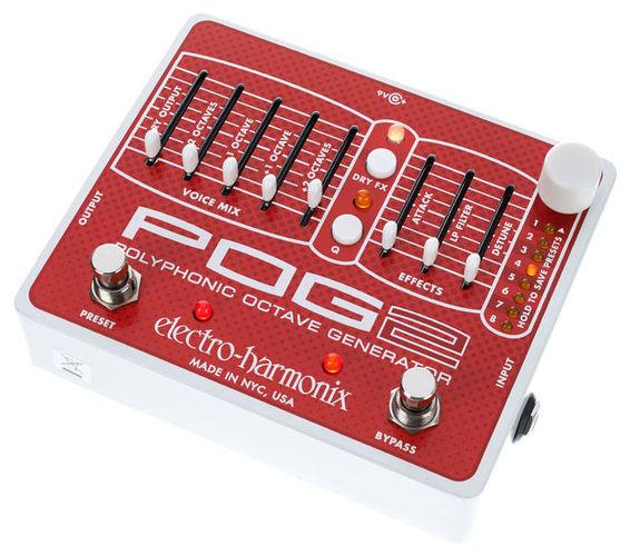Гитарный процессор для электрогитары Electro-Harmonix POG2 гитарный процессор для бас гитары boss me 20b