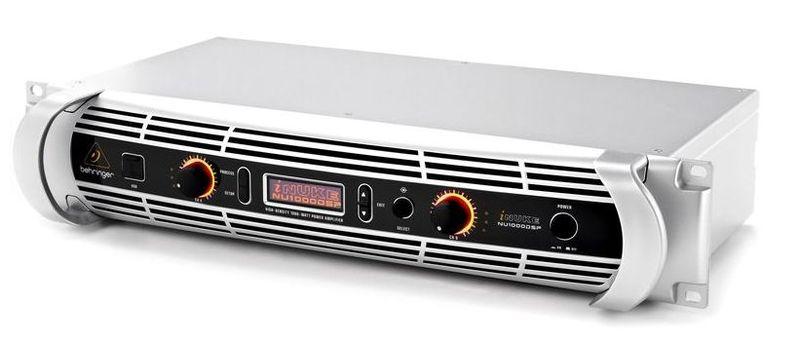 Усилитель мощности до 300 Вт (4 Ом) Behringer iNUKE NU1000DSP behringer dx626 dj