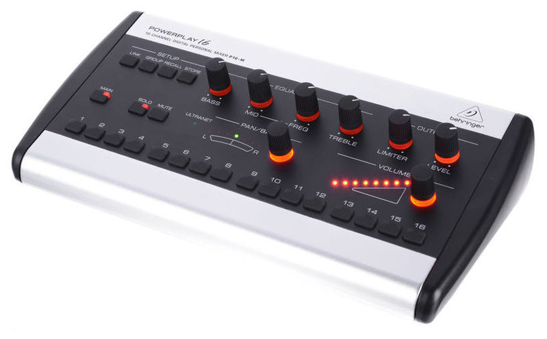 Аналоговый микшер Behringer POWERPLAY 16 P16-M behringer 802