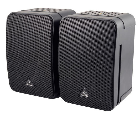 Пассивный студийный монитор Behringer MONITOR SPEAKERS 1C-BK колонка behringer digital monitor speakers ms20