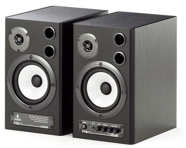 Активный студийный монитор Behringer MONITOR SPEAKERS MS40 колонка behringer digital monitor speakers ms20