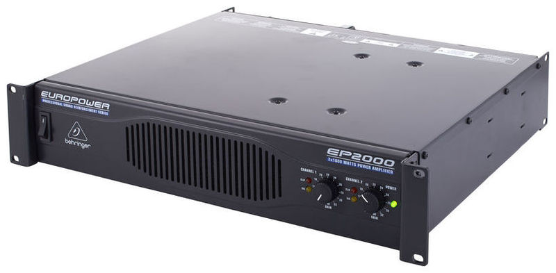 Усилитель мощности до 800 Вт (4 Ом) Behringer EUROPOWER EP2000 усилитель мощности 850 2000 вт 4 ом the t amp proline 3000