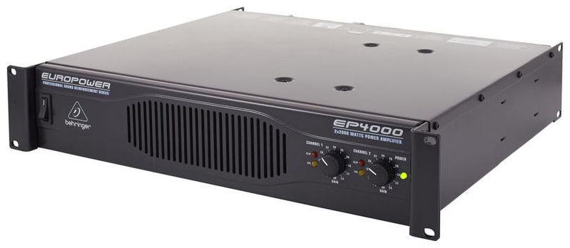 Усилитель мощности 850 - 2000 Вт (4 Ом) Behringer EUROPOWER EP4000 europower ep34tde