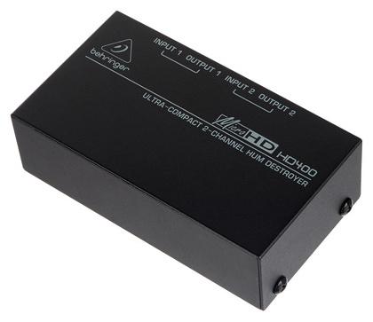Ди-бокс Behringer MICROHD HD400 behringer x1622usb
