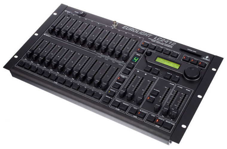 Контроллер DMX Behringer EUROLIGHT LC2412 пульт behringer ufx1204