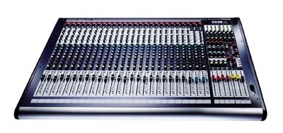 24-канальный микшер Soundcraft GB4 24CH микшерный пульт digidesign c 24