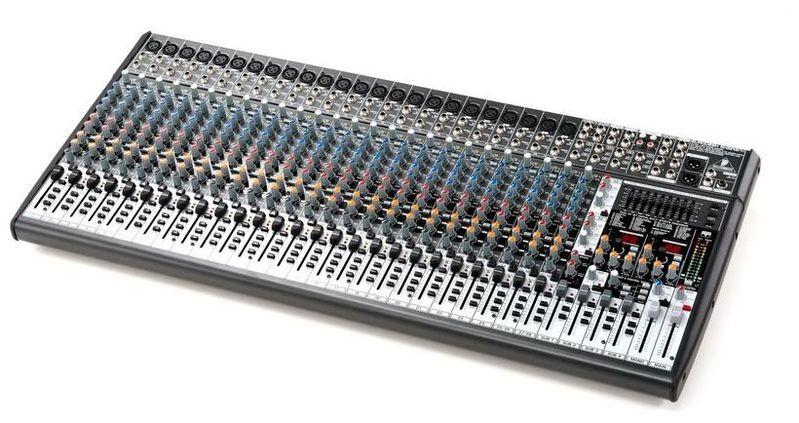 32-канальный микшер Behringer SX3242FX EURODESK микшерный пульт с усилением behringer pmp4000 europower
