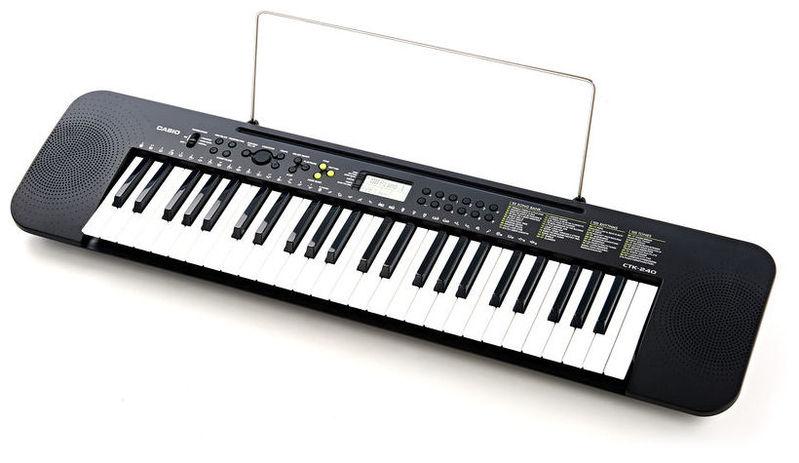 Синтезатор Casio CTK-240 синтезатор casio wk 7600 76 невзвешенная полноразмерные 64 черный