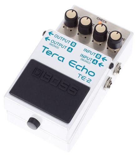 Педаль Reverb/Hall Boss TE-2 Tera Echo