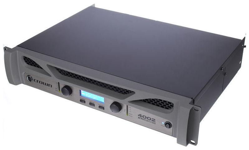Усилитель мощности 850 - 2000 Вт (4 Ом) Crown XTi4002 усилитель мощности до 800 вт 4 ом crown xls 1002